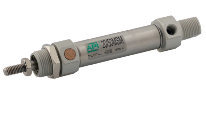 Micro cilinders 8 t/m 25 mm enkelwerkend