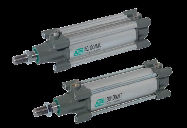 Pneumatische cilinders ISO 15552 AMA-AMT