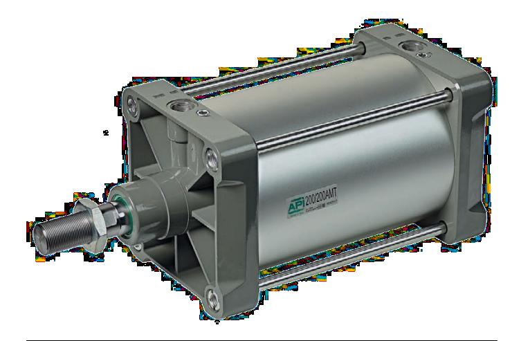 Pneumatische cilinders ISO 15552 - AMT