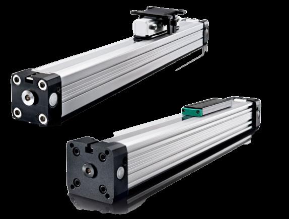 Zuigerstangloze cilinders PL en PLF serie