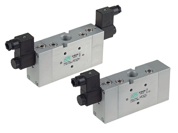 Elektrisch bediende ventielen A1E4 en A1K4