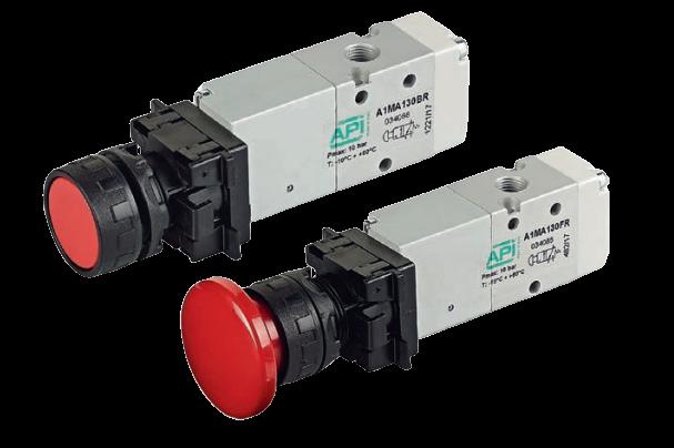 Handbediende ventielen serie A1 A1MA1..FR