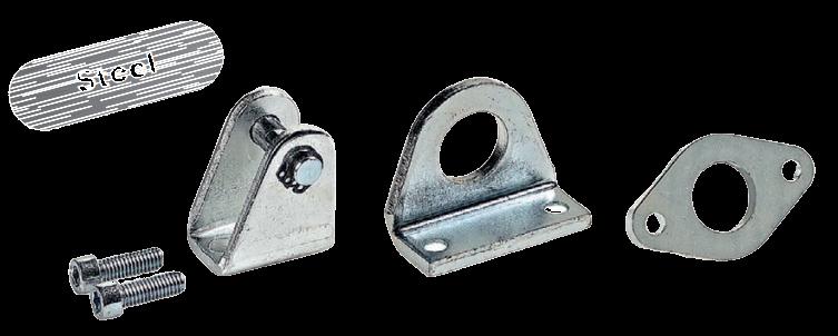 Montage accessoires voor ISO 6432 cilinders