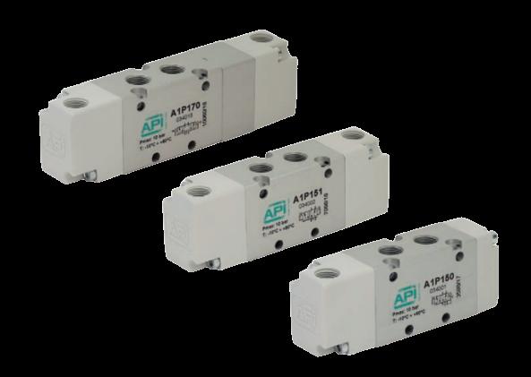 Pneumatisch bediend ventiel serie A1 - A1P1