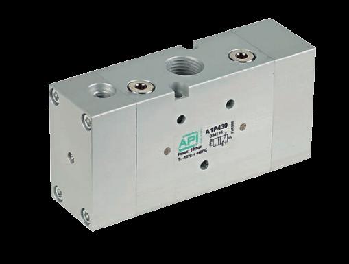 Pneumatisch bediende ventielen serie A1 – A1P4