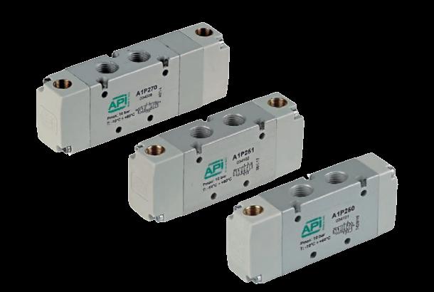 Serie A1 pneumatisch bediende ventielen