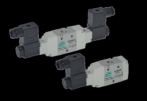 Elektrisch bediende ventielen A1E2 en A1K2