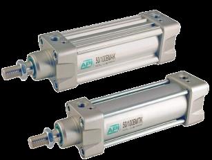 Pneumatische cilinders ISO 15552 - BMA en BMT