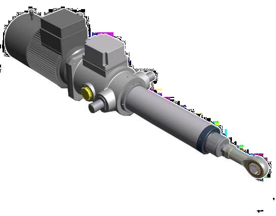 Lineaire actuator EC5 AC