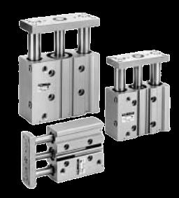 SMC Cilinders met geleiding