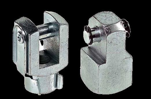 Montage accessoires voor cilinder gaffel cnomo