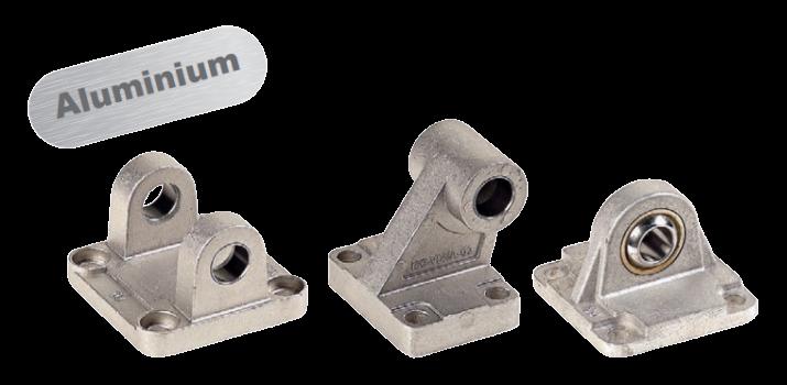Montage accessoires aluminium voor ISO 15552 cilinders