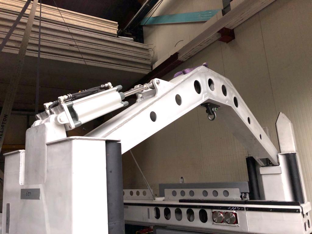 AMAK cilinders toegepast in de offshore en scheepsindustrie