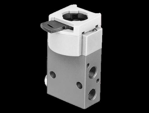 Mechanische ventielen met G1/8 aansluiting