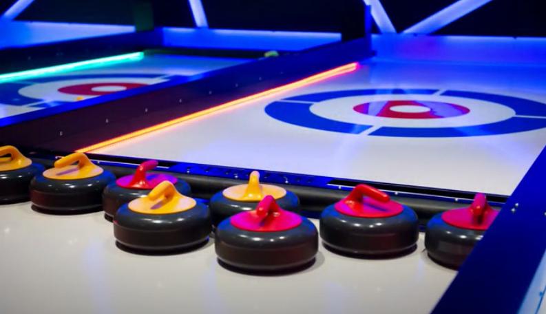Curling met lineairtechniek