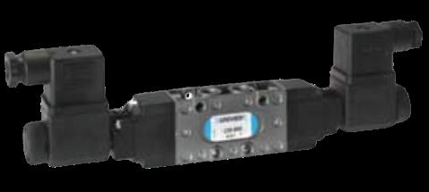 Dubbel elektrisch bediend 5/2 ventiel CM-9620