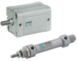 Compacte en microcilinder